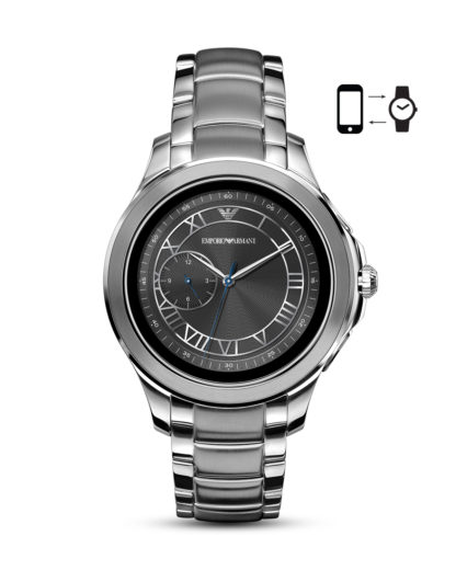 Smartwatch ART5010 EMPORIO ARMANI CONNECTED grau,silber 4013496046922