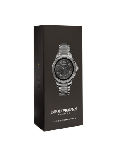 Smartwatch ART5010 EMPORIO ARMANI CONNECTED Herren Edelstahl 4013496046922