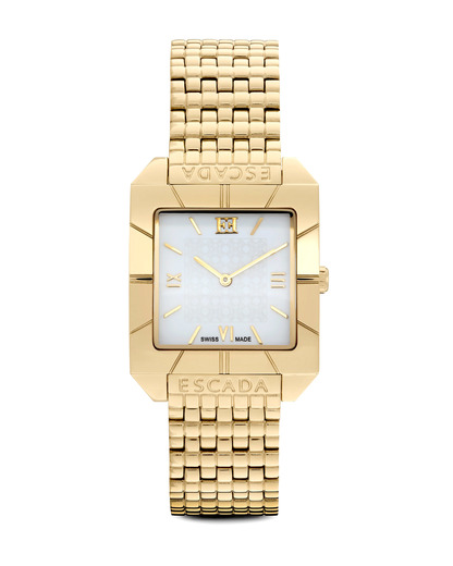 Quarzuhr Megan E2735022 ESCADA gold,weiß 7640152790591