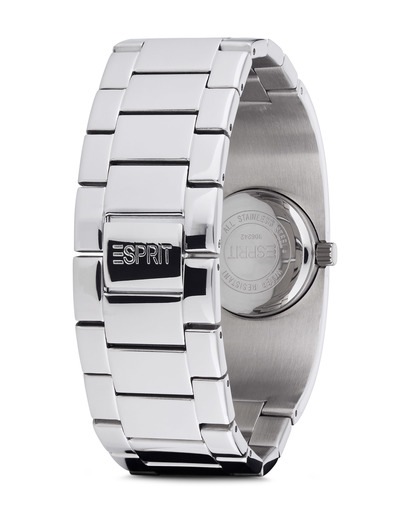 Quarzuhr Time Mono Lucent White ES106242001 Esprit Damen Edelstahl 4891945166076