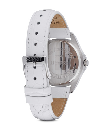 Quarzuhr Time Dolce Vita Love White ES106232002 Esprit Damen Leder 4891945166021