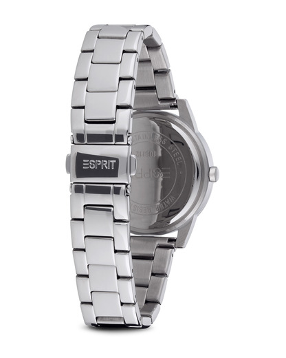 Quarzuhr Time ES-Multi Exchange Silver ES106112001 Esprit Damen Edelstahl 4891945165123