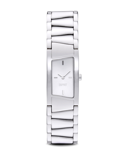 Quarzuhr Time Fancy Deco Silver ES106072001 Esprit silber 4891945164973