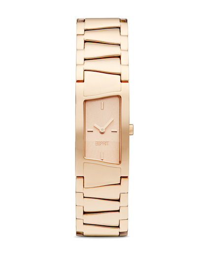 Quarzuhr Time Fancy Deco Rose Gold ES106072003 Esprit gold 4891945164997