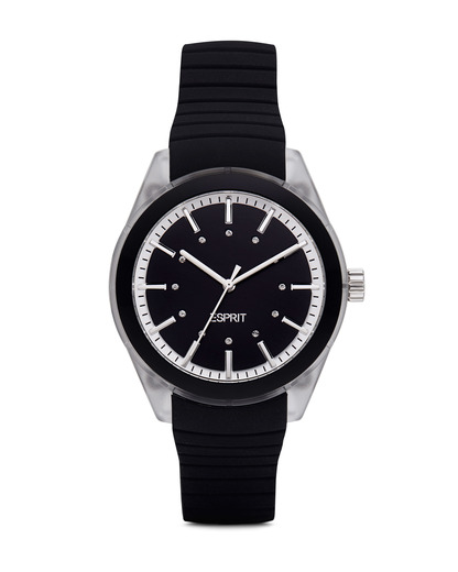 Quarzuhr Time Black Play ES900642002 Esprit klar,schwarz 4891945129293