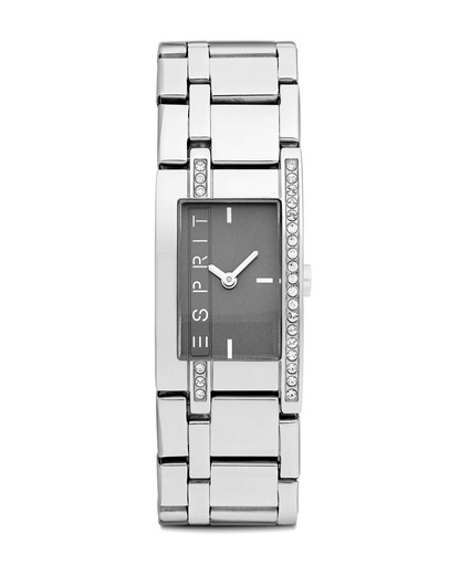 Quarzuhr Time Houston Light Grey ES000M02117 Esprit schwarz,silber 4891945162375