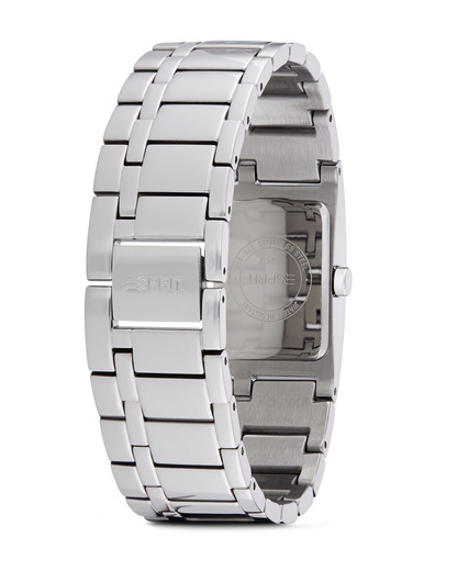 Quarzuhr Time Houston Light Grey ES000M02117 Esprit Damen Edelstahl 4891945162375