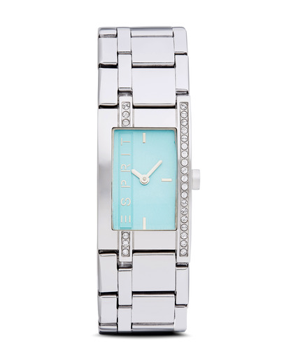 Quarzuhr Time Houston Sky Blue ES000M02118 Esprit silber,türkis 4891945162382