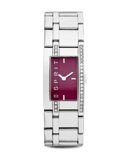 Quarzuhr Time Purple Houston ES000M02020 Esprit silber,violett 4891945053055