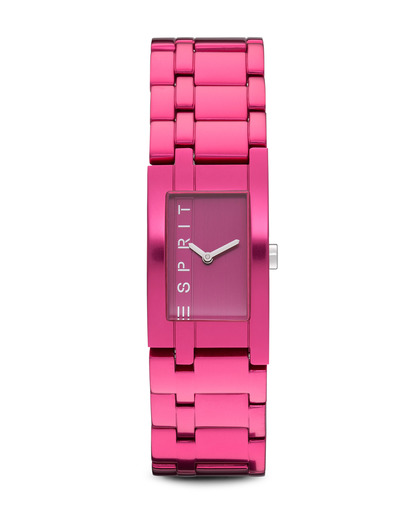Quarzuhr Time Houston Aluminum Raspberry ES105892008 Esprit pink 4891945161118
