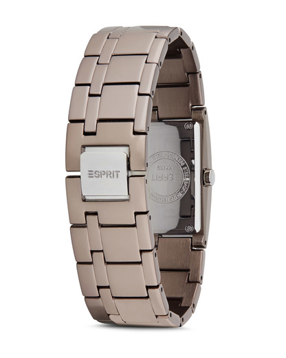 Quarzuhr Time Houston Aluminum Grey ES105892003 Esprit Damen Edelstahl 4891945161064