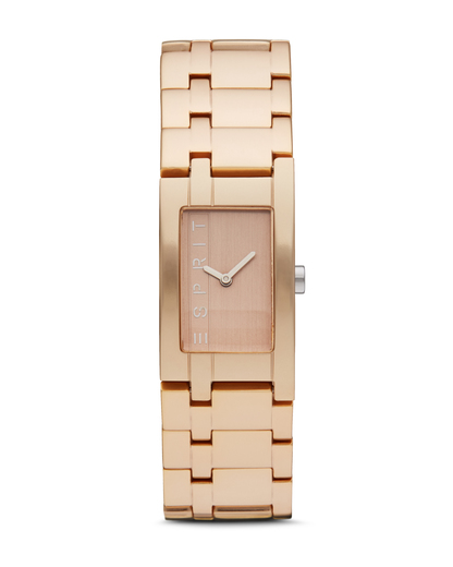 Quarzuhr Time Houston Aluminum Rosegold ES105892006 Esprit gold,roségold 4891945161095