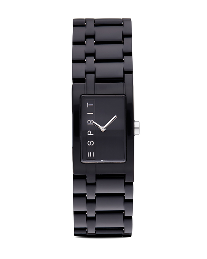 Quarzuhr Time Houston Funky Pure Black ES103362001 Esprit schwarz 4891945126292