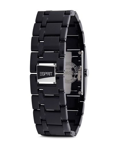 Quarzuhr Time Houston Funky Pure Black ES103362001 Esprit Damen Keramik 4891945126292
