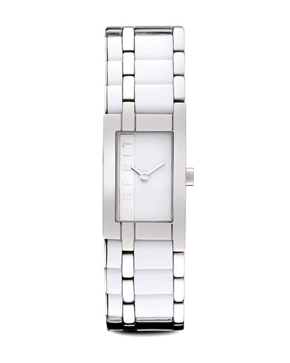 Quarzuhr Time Houston Mix White ES105402001 Esprit silber,weiß 4891945159740