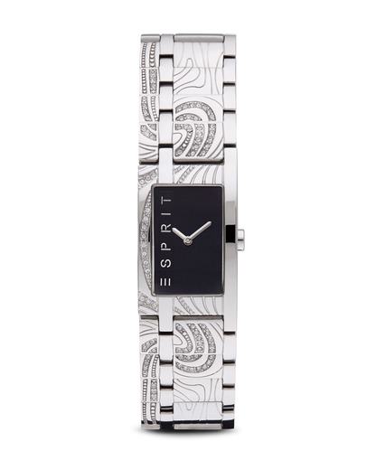 Quarzuhr Time Touch Black Houston ES102432002 Esprit schwarz,silber 4891945119768