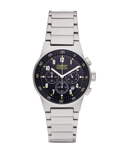 Chronograph Time Equalizer Black Metal Chrono ES000T31041 Esprit schwarz,silber 4891945089221