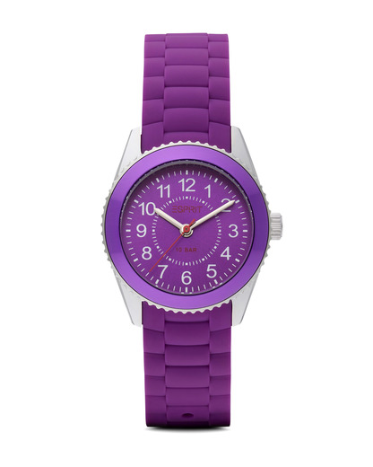Quarzuhr Time Marin Mini Marin 68 Purple ES106424006 Esprit silber,violett 4891945163563