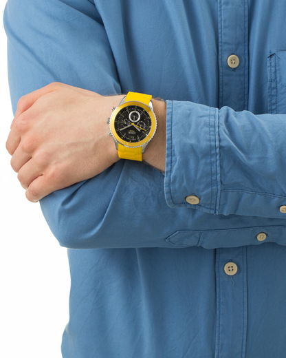 Chronograph Time Marin Marin Men Yellow ES105331009 Esprit Herren Kunststoff 4891945170288