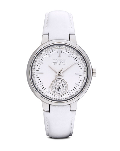 Quarzuhr Collection Time Maia White EL101972F01 Esprit Collection silber,weiß 4891945168513