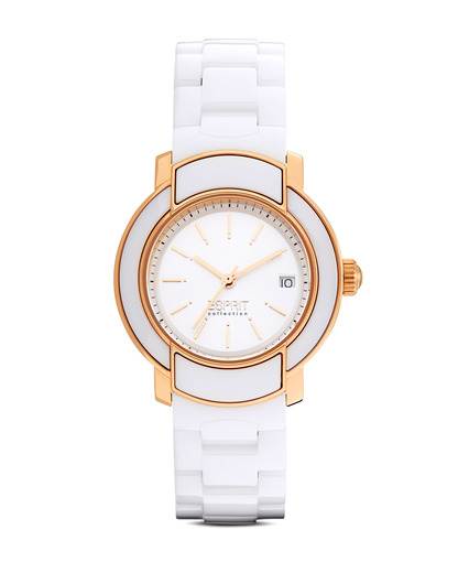 Quarzuhr Collection Time Arethusa Rosegold White EL101882F03 Esprit Collection mehrfarbig,roségold,weiß 4891945168926