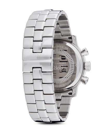 Chronograph Collection Time Pontess Silver White EL900322006 Esprit Collection Damen Edelstahl 4891945113360