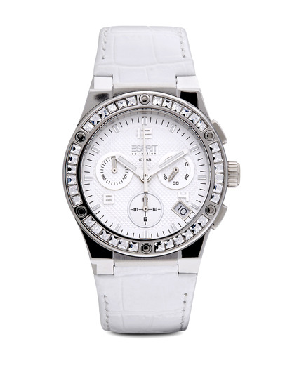 Chronograph Collection Time Pherousa White EL101822F01 Esprit Collection silber,weiß 4891945161446