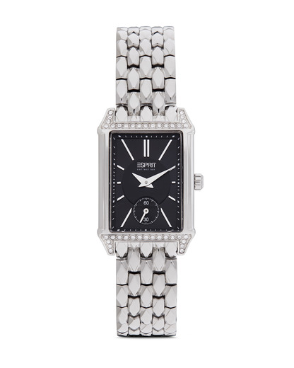 Quarzuhr Collection Time Alke Silver Black EL101992F07 Esprit Collection schwarz,silber 4891945168711