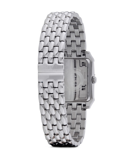Quarzuhr Collection Time Alke Silver Black EL101992F07 Esprit Collection Damen Edelstahl 4891945168711