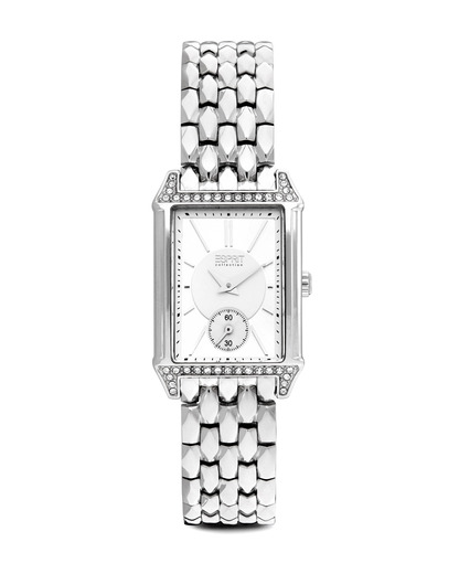Quarzuhr Collection Time Alke Silver EL101992F06 Esprit Collection silber 4891945168704