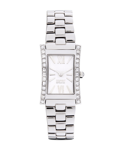 Quarzuhr Collection Time Elektra Pure Silver EL101122F06 Esprit Collection silber 4891945128357
