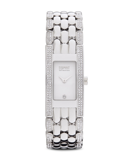 Quarzuhr Collection Time Mystis Silver EL101682F01 Esprit Collection silber,weiß 4891945152499