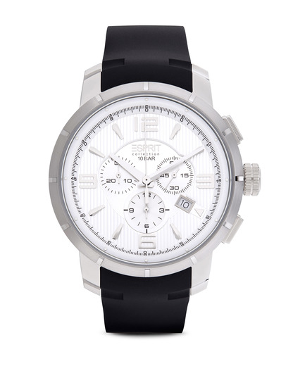 Chronograph Collection Time Ourea Day EL101921F01 Esprit Collection schwarz,silber 4891945168049