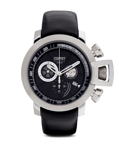 Chronograph Collection Time Aeolus Black EL101831F01 Esprit Collection schwarz,silber 4891945168070