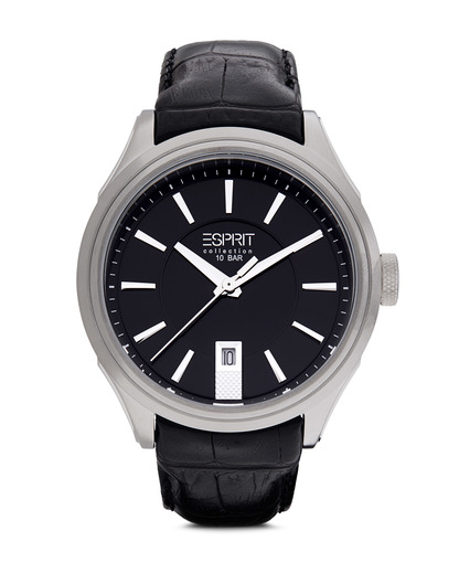 Quarzuhr Collection Time Herades Black EL101931F01 Esprit Collection schwarz,silber 4891945168278