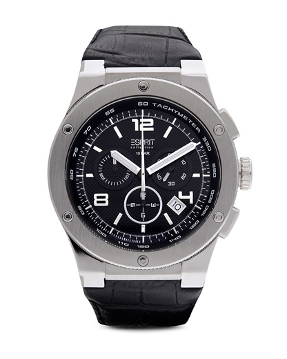 Chronograph Collection Time Phorcys Silver Black EL101811F02 Esprit Collection schwarz,silber 4891945161323
