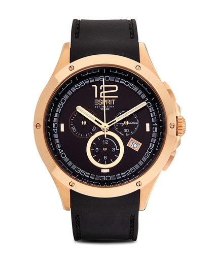 Chronograph Collection Time Atropos Rosegold EL101421F03 Esprit Collection roségold,schwarz 4891945152918
