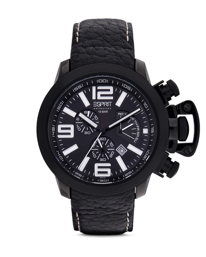 Chronograph Collection Time Uranos Night EL900211004 Esprit Collection schwarz 4891945114626