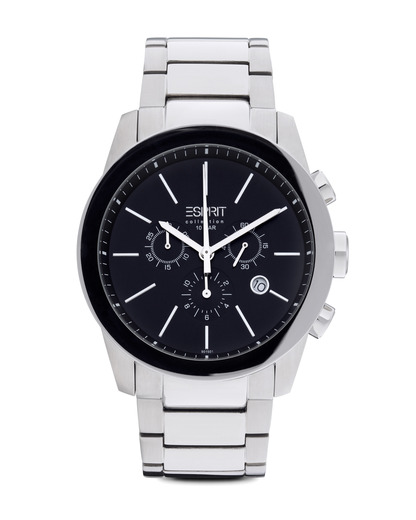 Chronograph Collection Time Belos Chrono Black EL900151001 Esprit Collection schwarz,silber 4891945114343