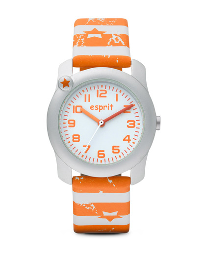 Quarzuhr Nautical Sailor ES105284012 Esprit orange,silber,weiß 4891945163402