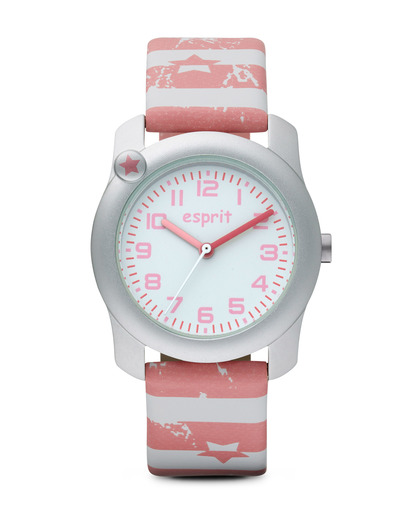 Quarzuhr Nautical Sailor ES105284011 Esprit rosa,silber,weiß 4891945163396