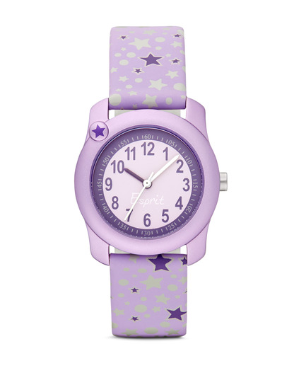 Quarzuhr Little Star ES105284002 Esprit silber,violett 4891945149628