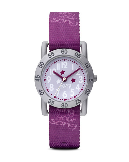 Quarzuhr Love song ES102764008 Esprit silber,violett 4891945125349
