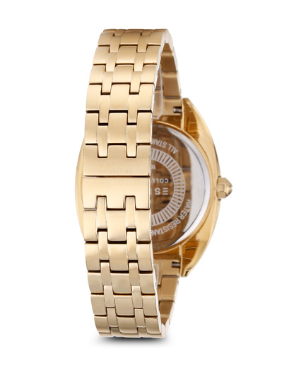 Quarzuhr Clymene EL102072F05 Esprit Collection Damen Edelstahl vergoldet 4891945183547