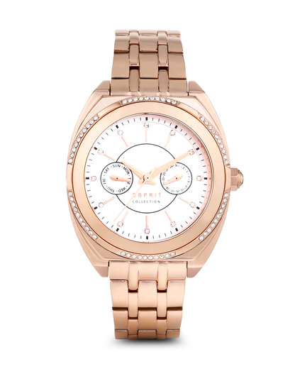 Quarzuhr Clymene EL102072F04 Esprit Collection roségold,weiß 4891945183530