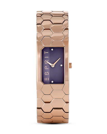 Quarzuhr Houston Hexa ES107882003 Esprit roségold 4891945187712