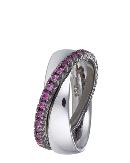 Ring Brilliance Couple Pink 925 Sterling Silber Esprit