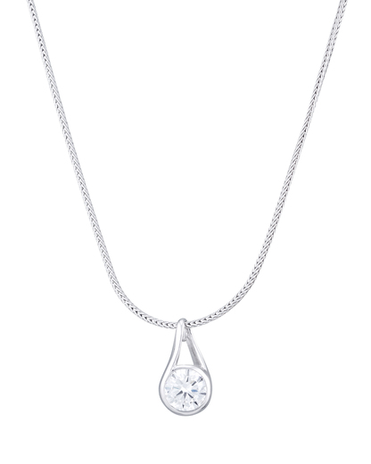 Halskette Glamour Solitaire 925 Sterling Silber Esprit 4891945383091