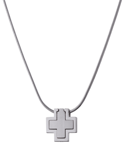 Halskette 1+1 Crossincross 925 Sterling Silber Esprit 4891945620998