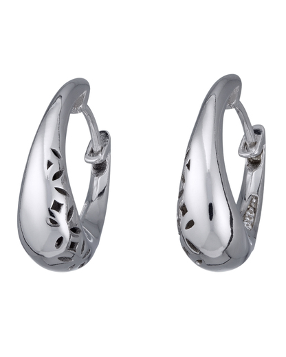 Creolen Ovality Glam 925 Sterling Silber Esprit 4891945384388